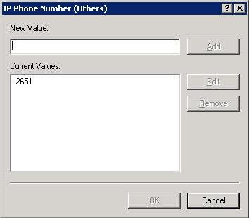 IpPhone Number (Others)